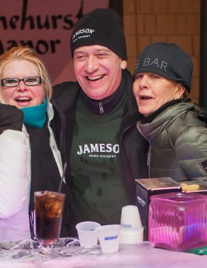 The Ice Bar Event in North Conway, New Hampshire